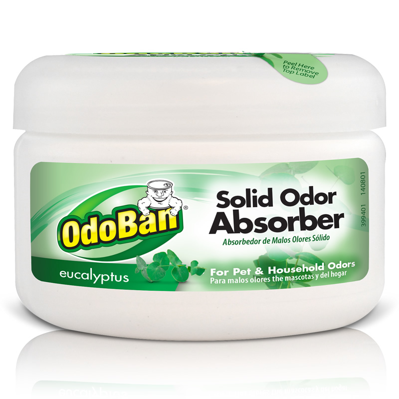 Odoban professional odoban solid odor absorber eucalyptus Does cold air eliminate odor