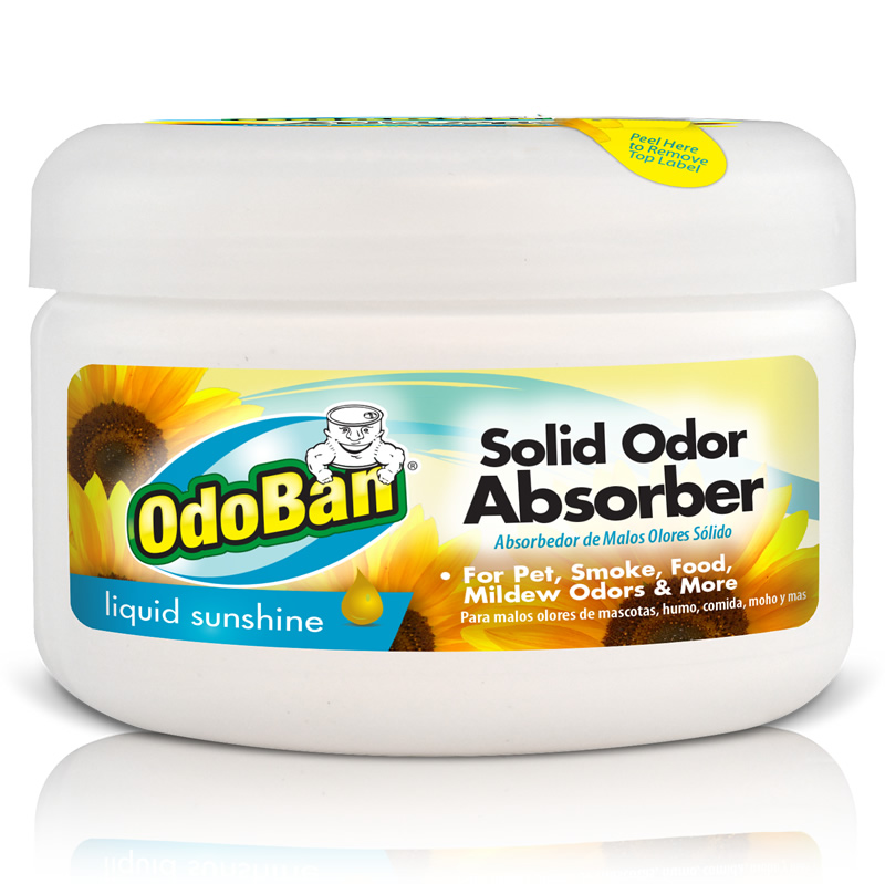 Odoban professional odoban solid odor absorber liquid Does cold air eliminate odor
