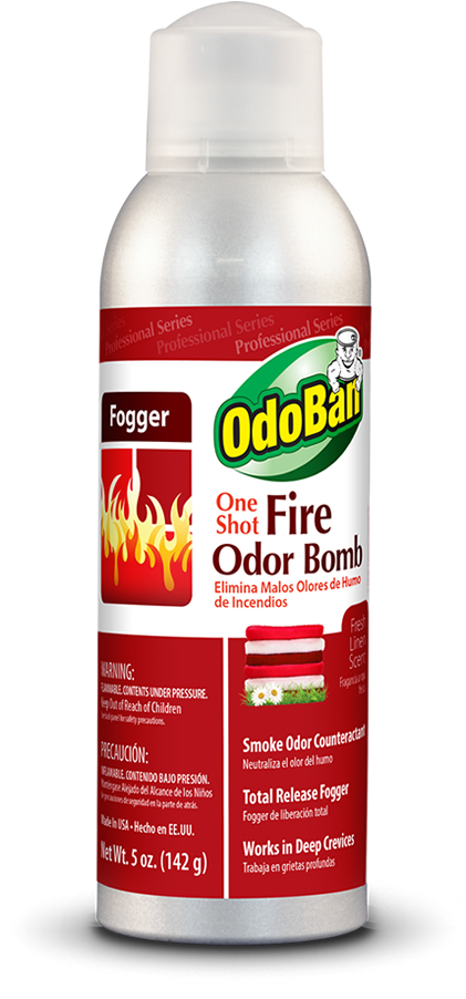 Odoban professional one shot fire odor bomb Does cold air eliminate odor
