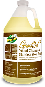 Lemon Oil Wood Cleaner and Stainless Steel Polish
