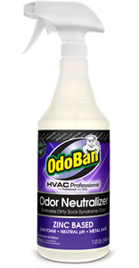 HVAC Odor Neutralizer - Eliminates Dirty Sock Syndrome Odor