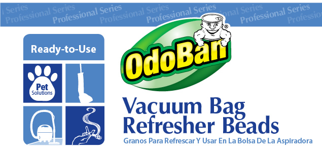 Odoban Professional Vacuum Bag Refresher Beads